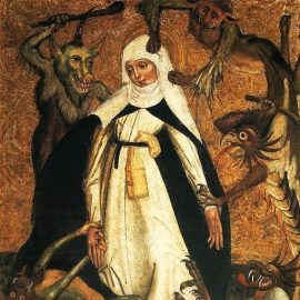 St. Catherine of Siena and Demons