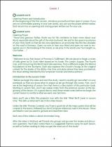 The Eucharist in Scripture Leader Guide Sample