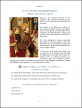 The Eucharist in Scripture Workbook Sample