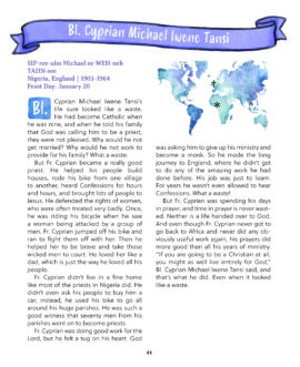 Saints Around the World - Page 1